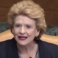 Sen. Stabenow shut down Trump's budget director over the Great Lakes