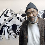 Detroit artist Charles McGee debuts new mural alongside exhibition