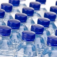 Flint residents deliver letters in empty water bottles to Snyder and Schuette