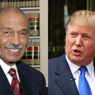 Conyers leads massive emoluments lawsuit against Trump