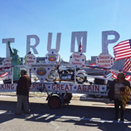 The 'Trump Unity Bridge' is heading for the Woodward Dream Cruise