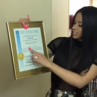 For some reason city council gave Cardi B a Spirit of Detroit award
