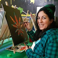 'Puff, Puff, Paint' is like 'Painting With a Twist,' but with pot