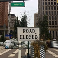 Woodward Avenue street plaza to stay open despite traffic concerns