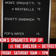 You can eat 'mom's spaghetti' with Eminem during a pop up dinner at the Shelter