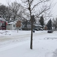 Nearly all of Detroit's 1,900 miles of residential streets have been plowed, officials say