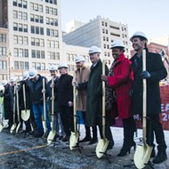 Art, a 'makers space,' and big brands that cannot be named coming to Detroit's tallest building