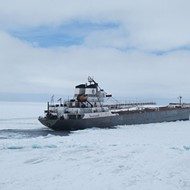 It's so cold the Great Lakes are freezing faster than usual