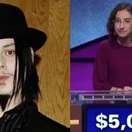 Julie on <i>Jeopardy!</i> confused Jack White with Eminem