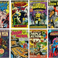 U-M Dearborn comic book cover exhibition is no child's play