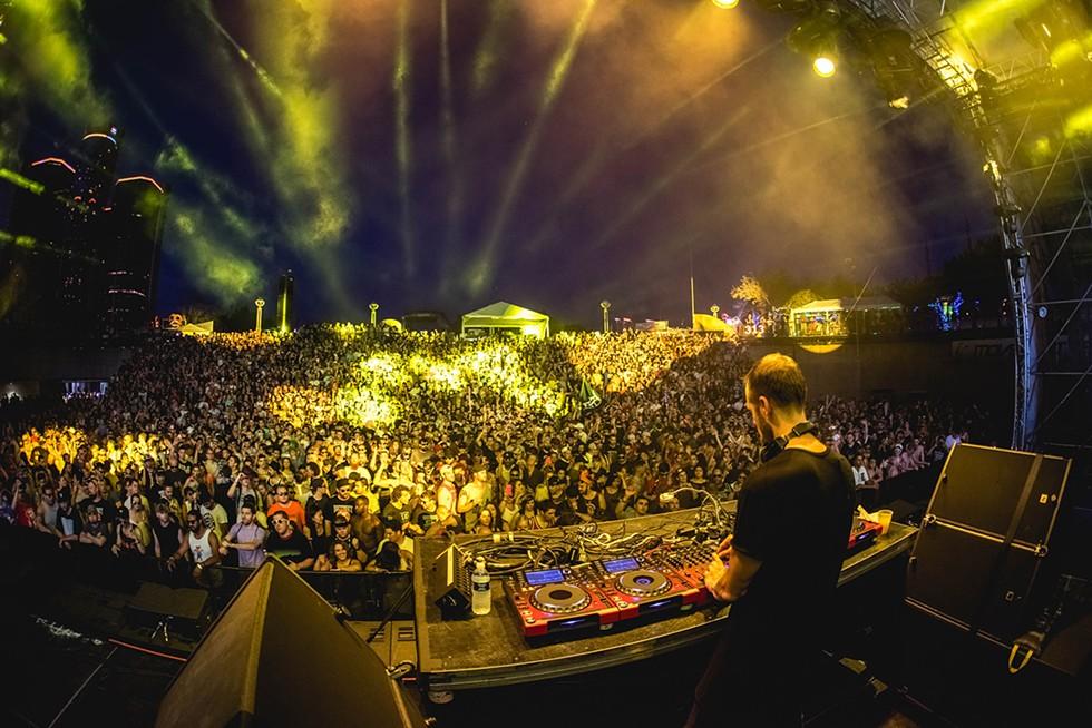 Movement Electronic Music Festival. - STEPHEN BONDIO