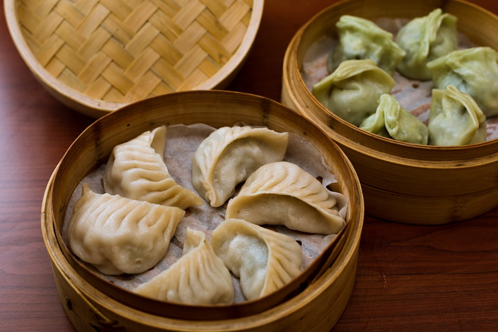Dumplings from Shanghai Bistro. - JORDAN BUZZY