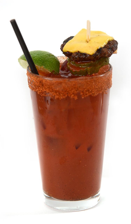 Secret Menu Bloody Mary from Vinsetta Garage. - AUSTIN EVANS EIGHMEY