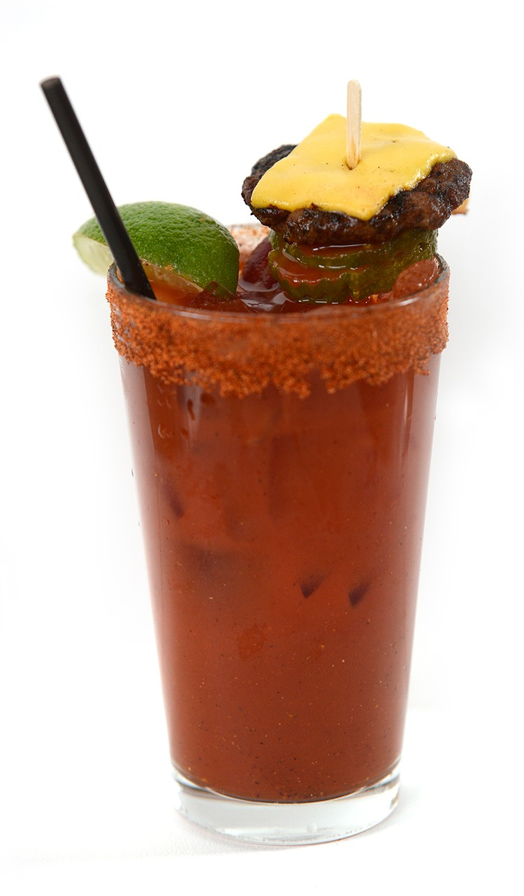 Secret Menu Bloody Mary from Vinsetta Garage. - AUSTIN EVANS EIGHMEY