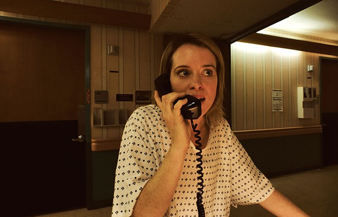 Claire Foy stars as Sawyer Valentini in Steven Soderbergh's Unsane. - COURTESY PHOTO