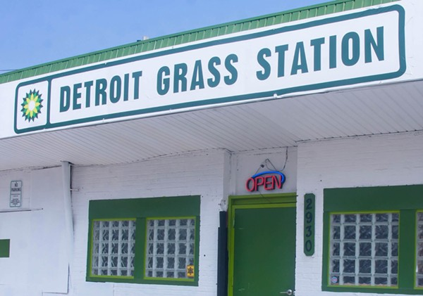 The Detroit Grass Station, shuttered last year under city-imposed rules, was issued a cease and desist letter from the state. - YOUTUBE, AMSTERMICHIGAN