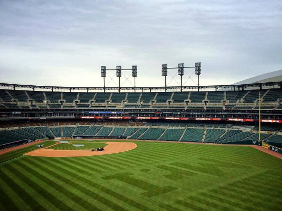 An empty Tigers stadium. No, this is not the low attendance game, there were about 15,000 people on hand for that. - MT FILE PHOTO