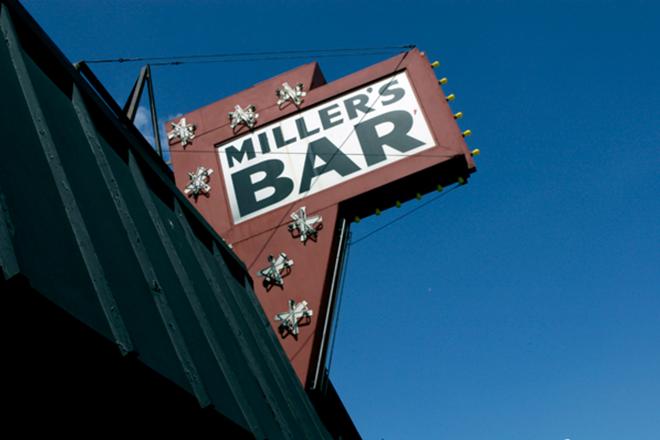 COURTESY OF MILLER'S BAR