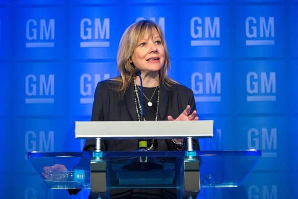 General Motors CEO Mary Barra. - PHOTO BY JEFFREY SAUGER FOR GENERAL MOTORS