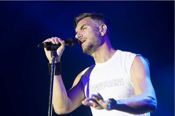 Nick Hexum of 311. - SHUTTERSTOCK