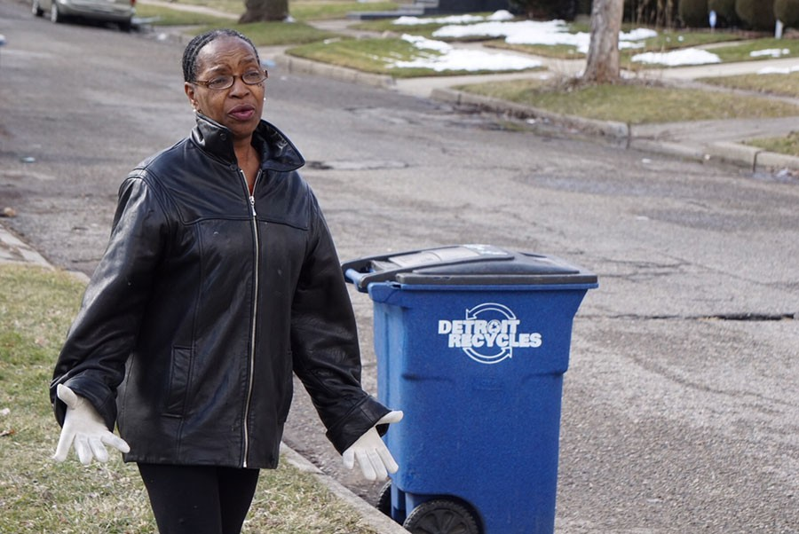 Sandra Turner-Handy is community engagement director for the Michigan Environmental Council and has been a tireless advocate of curbside recycling. - JAY JURMA