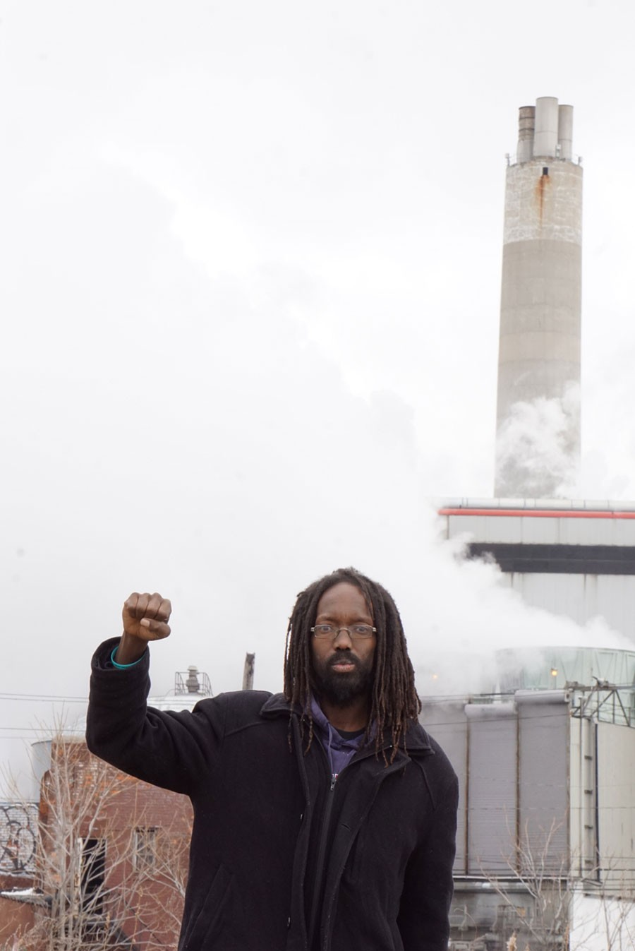 William Copeland is the climate justice director for the East Michigan Environmental Action Council, and is active with the Breathe Free Detroit campaign. - JAY JURMA