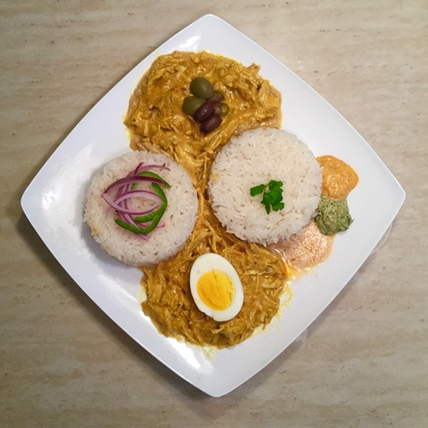 Aji de Gallina. - COURTESY PHOTO