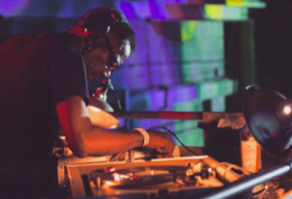 DJ John Collins performs at Tires in Detroit in 2016. - COURTESY PHOTO