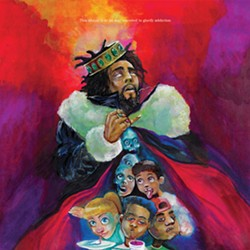 Sixmau's cover art for J. Cole's KOD. - COURTESY
