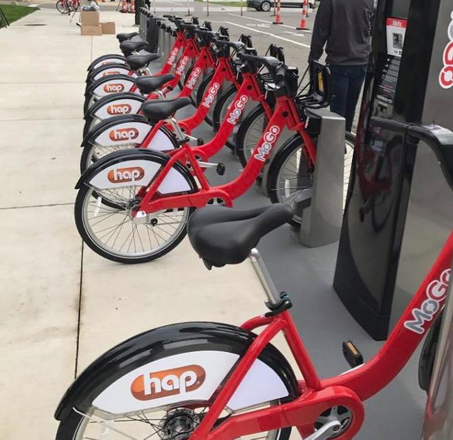 MOGO bikes in Detroit. - FACEBOOK.