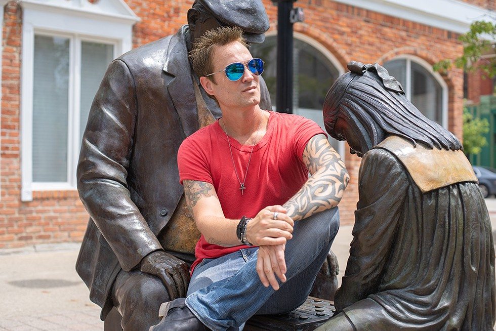 Jeff Gutt in Mount Clemens.