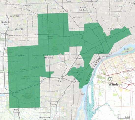 Michigan's 13th Congressional District.