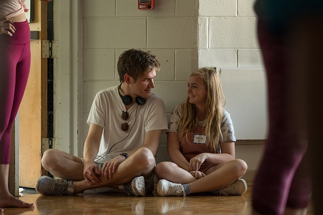 Eighth Grade writer and director Bo Burnham and actress Elsie Fisher. - COURTESY PHOTO