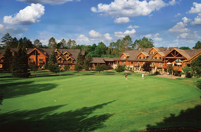 Garland Lodge and Resort. - COURTESY PHOTO