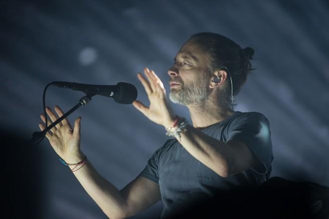 Thom Yorke, Radiohead, Little Caesars Arena - PHOTO BY AUSTIN EVANS EIGHMEY
