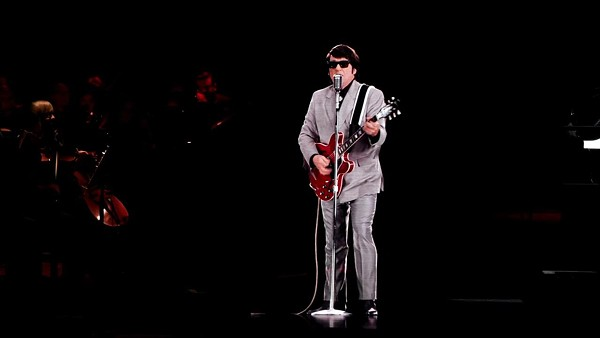 BASE Orbison Hologram demo. - SCREEN GRAB VIA YOUTUBE
