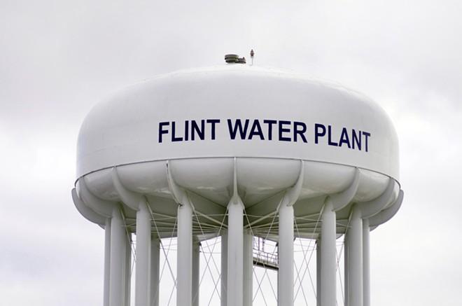 Flint Water Plant. - SHUTTERSTOCK