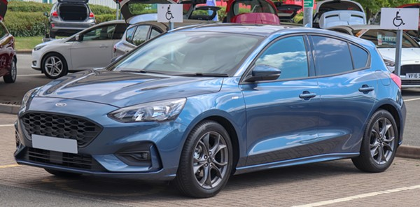 2018 Ford Focus. - VAUXFORD, WIKIMEDIA CREATIVE COMMONS