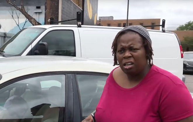 """Towed? """"For coming to McDonald's?"""" - SCREENGRAB, YOUTUBE"""