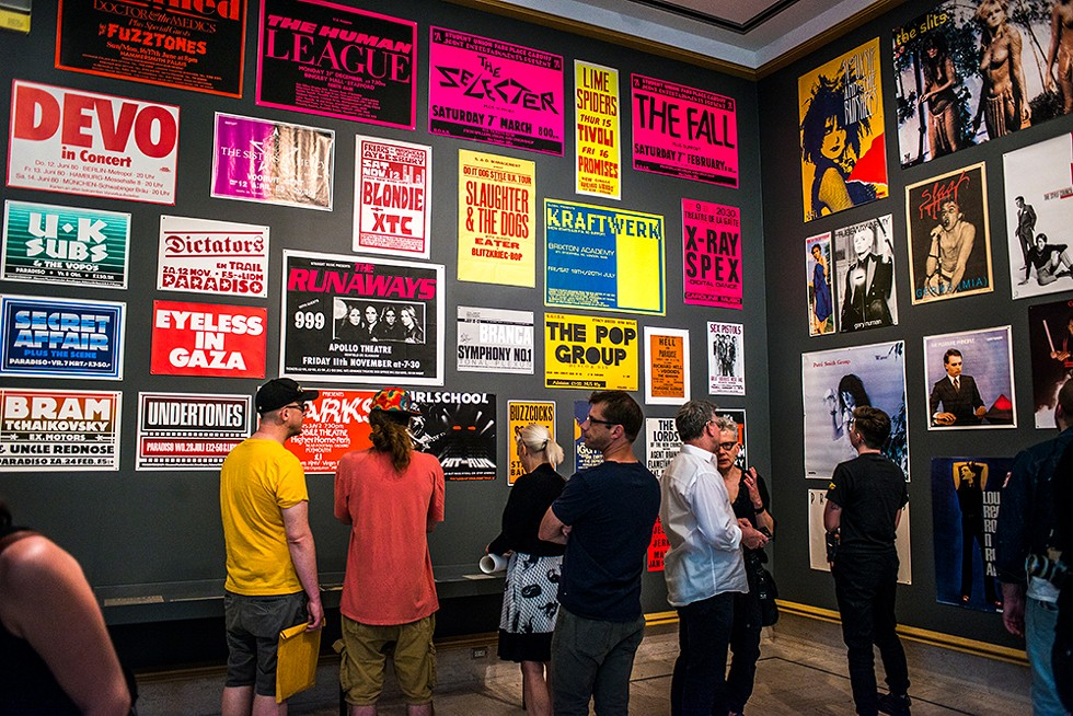 Too Fast to Live, Too Young to Die: Punk Graphics, 1976-1986 runs through Oct. 7 at Cranbrook Art Museum. - COURTESY PHOTO