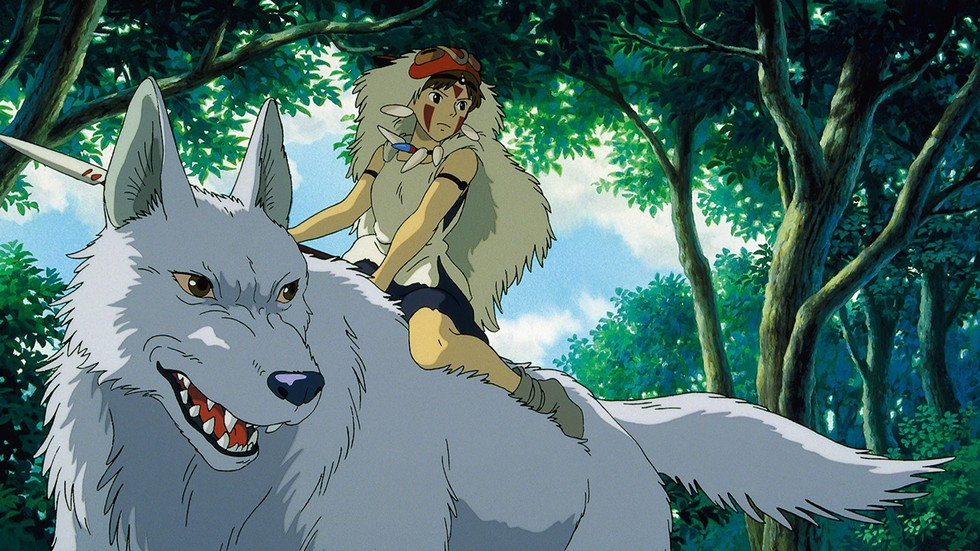Princess Mononoke plays Friday, Sept. 28 and Saturday, Sept. 29, midnight at Royal Oak's Main Art Thatre. - COURTESY PHOTO