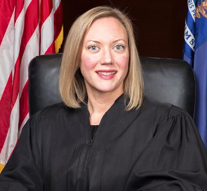 Justice Elizabeth Clement. - COURTESY PHOTO