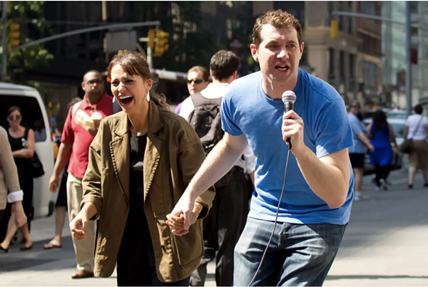 Billy Eichner and Rashida Jones. - BILLY ON THE STREET, TRUTV