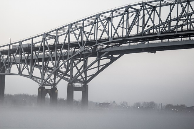 The Blue Water Bridge connects southwestern Ontario to Port Huron, Michigan. - ERHLIF / SHUTTERSTOCK