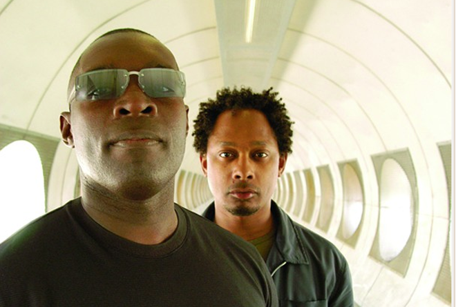 Kevin Saunderson and Derrick May. - DOUG COOMBE