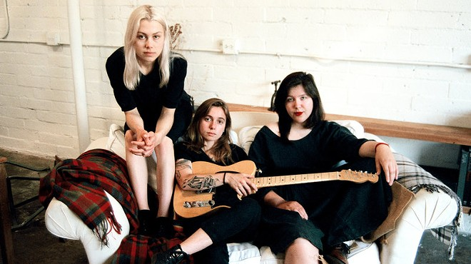 Phoebe Bridgers, Julien Baker, and Lucy Dacus - PHOTO PROVIDED BY ARTIST, LERA PENTELUTE