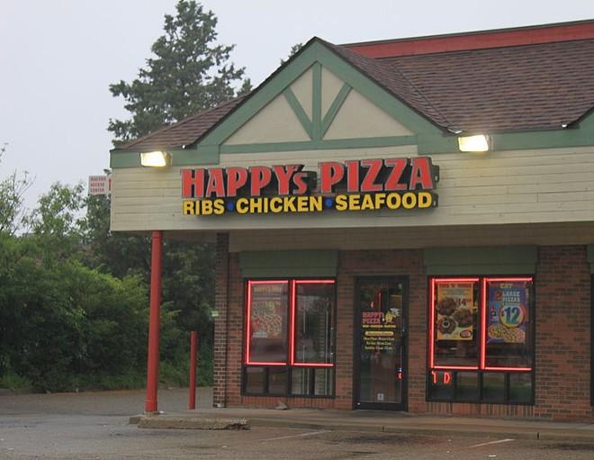 A Happy's Pizza franchise location in Ypsilanti Twp. - DWIGHT BURDETTE/WIKIMEDIA COMMONS