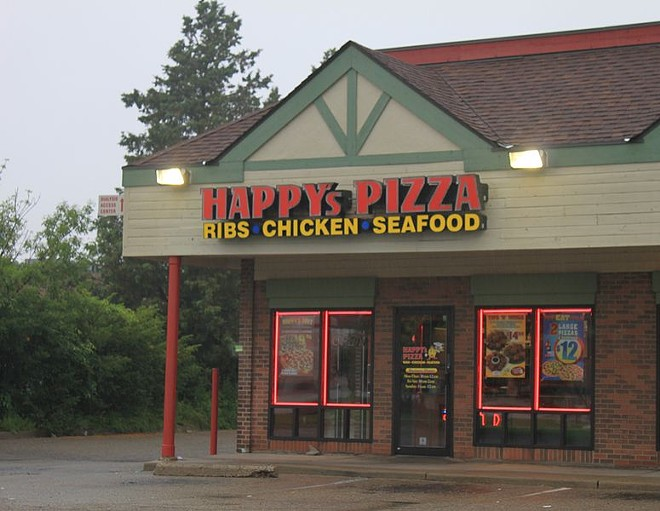 A Happy's Pizza franchise location in Ypsilanti Twp. - DWIGHT BURDETTE/WIKIMEDIA COMMONS