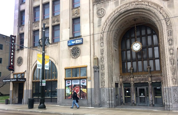Shields is planning a new restaurant for the Maccabees Building near Wayne State University. - TOM PERKINS