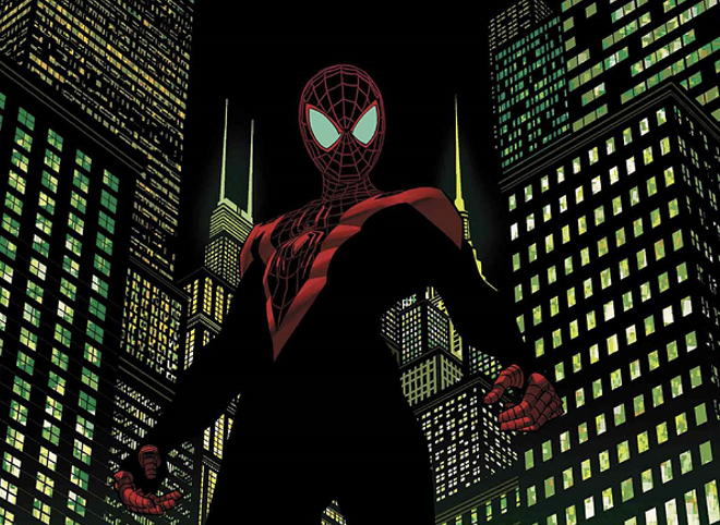 Spider-Man No. 1 by Saladin Ahmed. - COURTESY OF VAULT OF MIDNIGHT